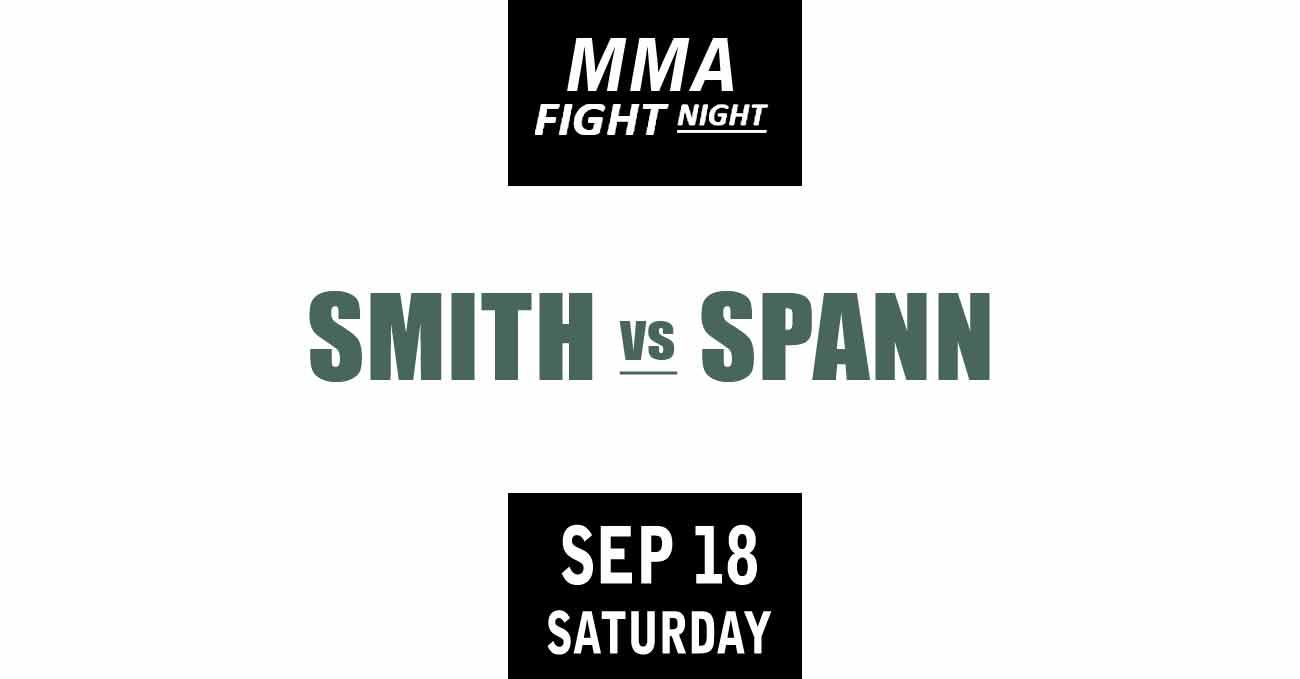 Anthony Smith vs Ryan Spann full fight video UFC Vegas 37 poster by ATBF