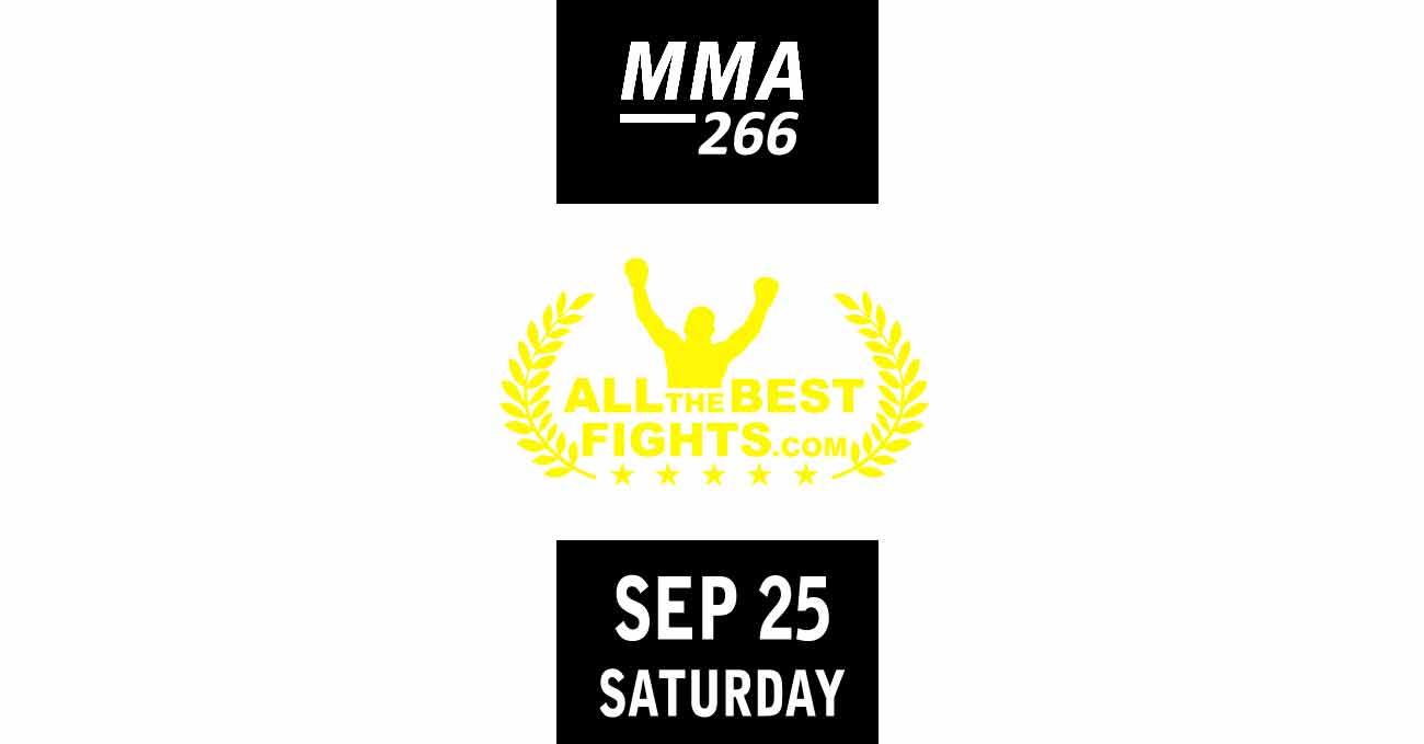 Poster of UFC 266: Volkanovski vs Ortega by ATBF