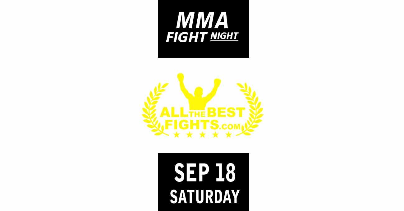 Poster of UFC Vegas 37: Smith vs Spann by ATBF