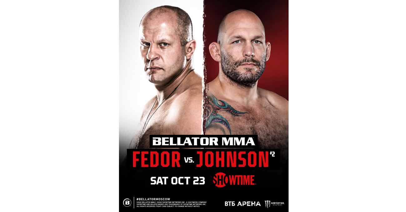Poster of Bellator 269: Fedor vs Johnson