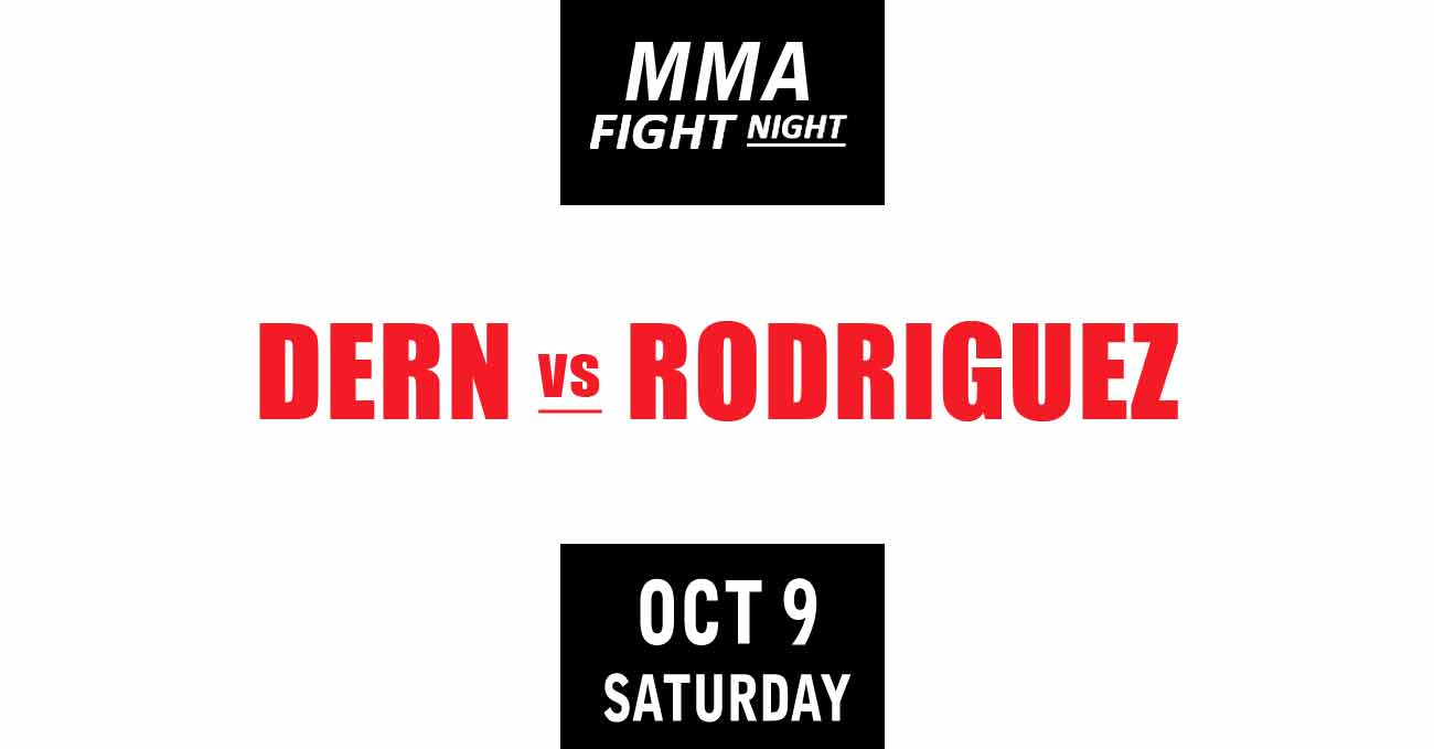 Mackenzie Dern vs Marina Rodriguez full fight video UFC Vegas 39 poster by ATBF