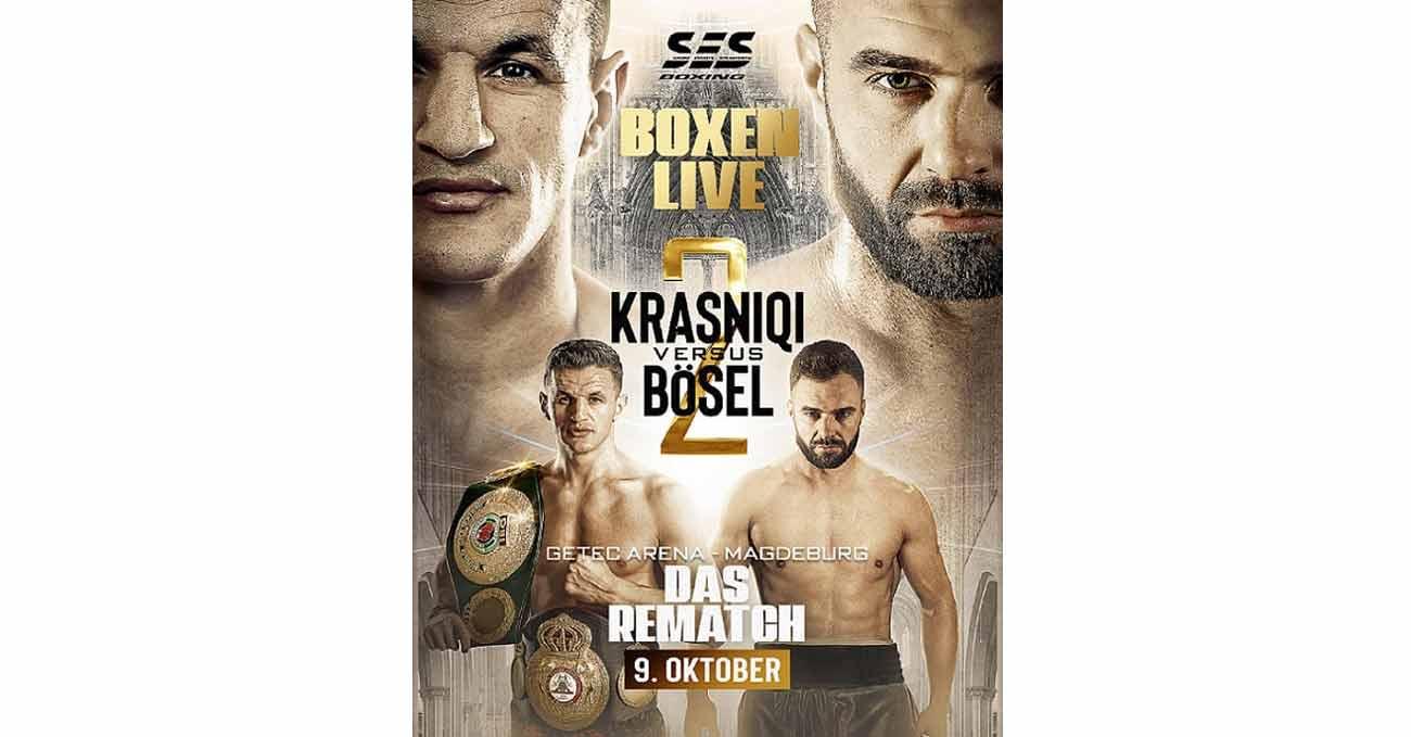 Robin Krasniqi vs Dominic Boesel 2 full fight video poster 2021-10-09