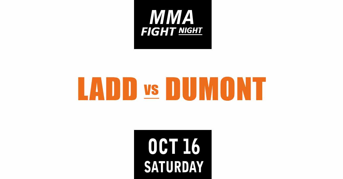 Aspen Ladd vs Norma Dumont full fight video UFC Vegas 40 poster by ATBF