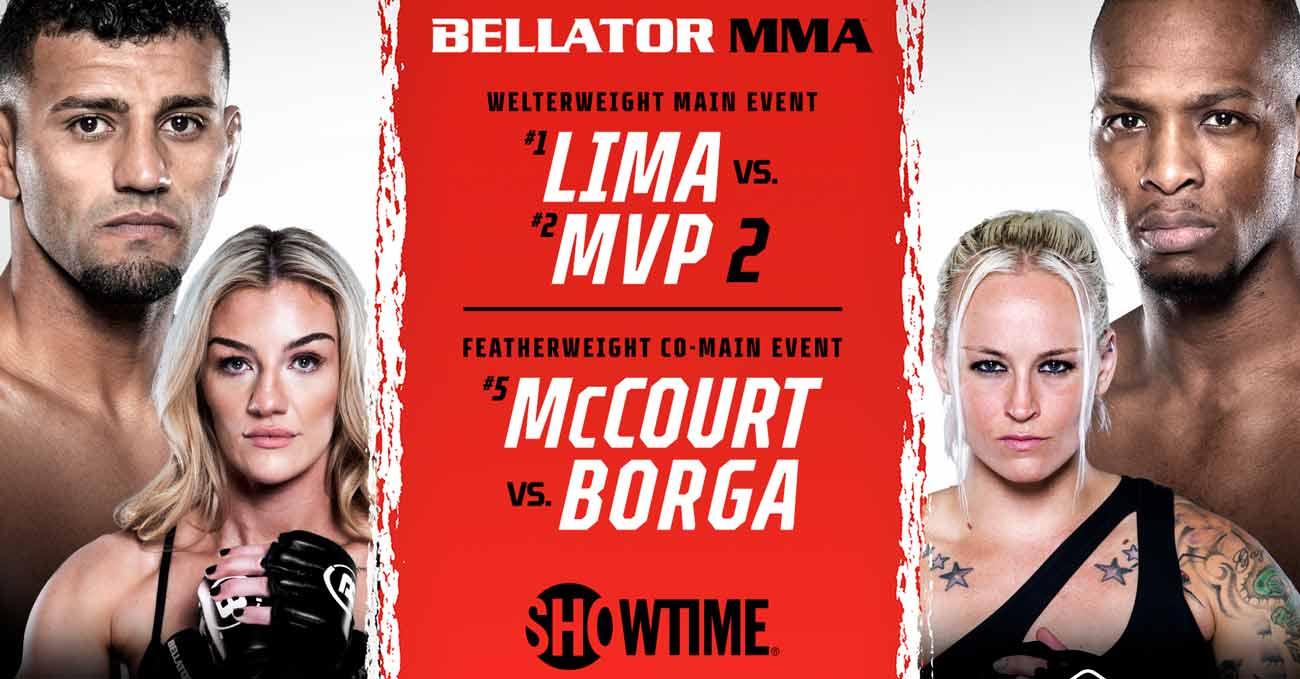Douglas Lima vs Michael Page 2 full fight video Bellator 267 poster