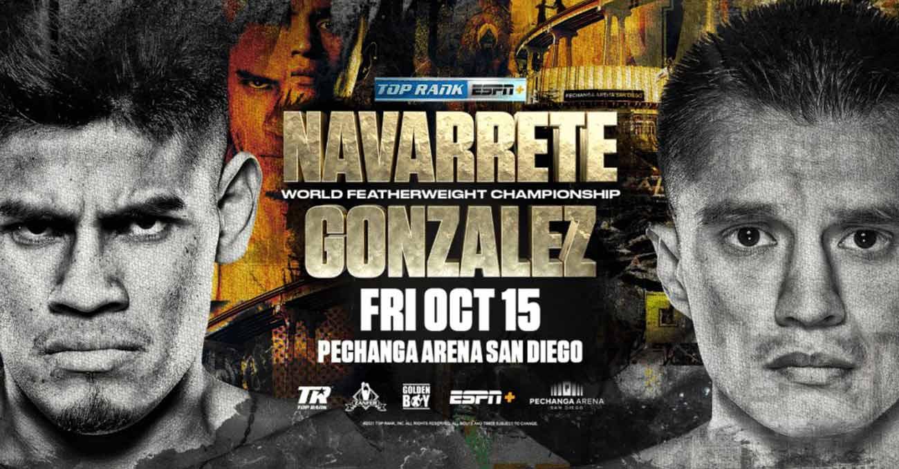 Emanuel Navarrete vs Joet Gonzalez full fight video poster 2021-10-15