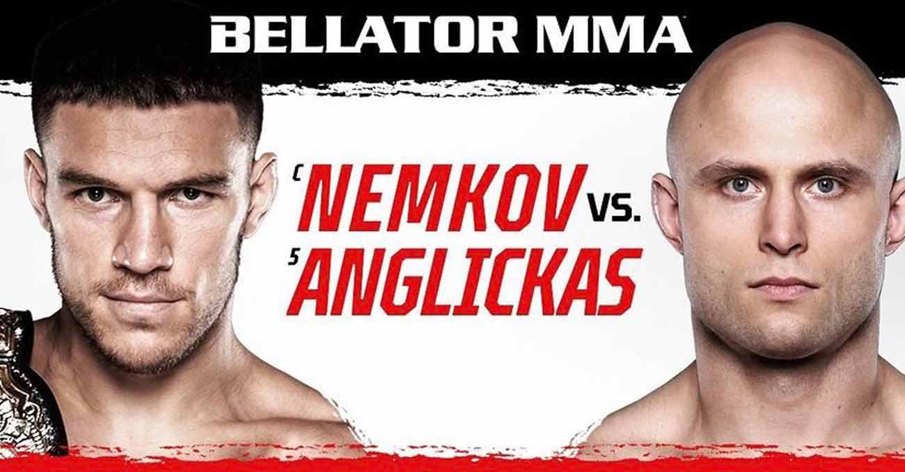 Vadim Nemkov vs Julius Anglickas full fight video Bellator 268 poster