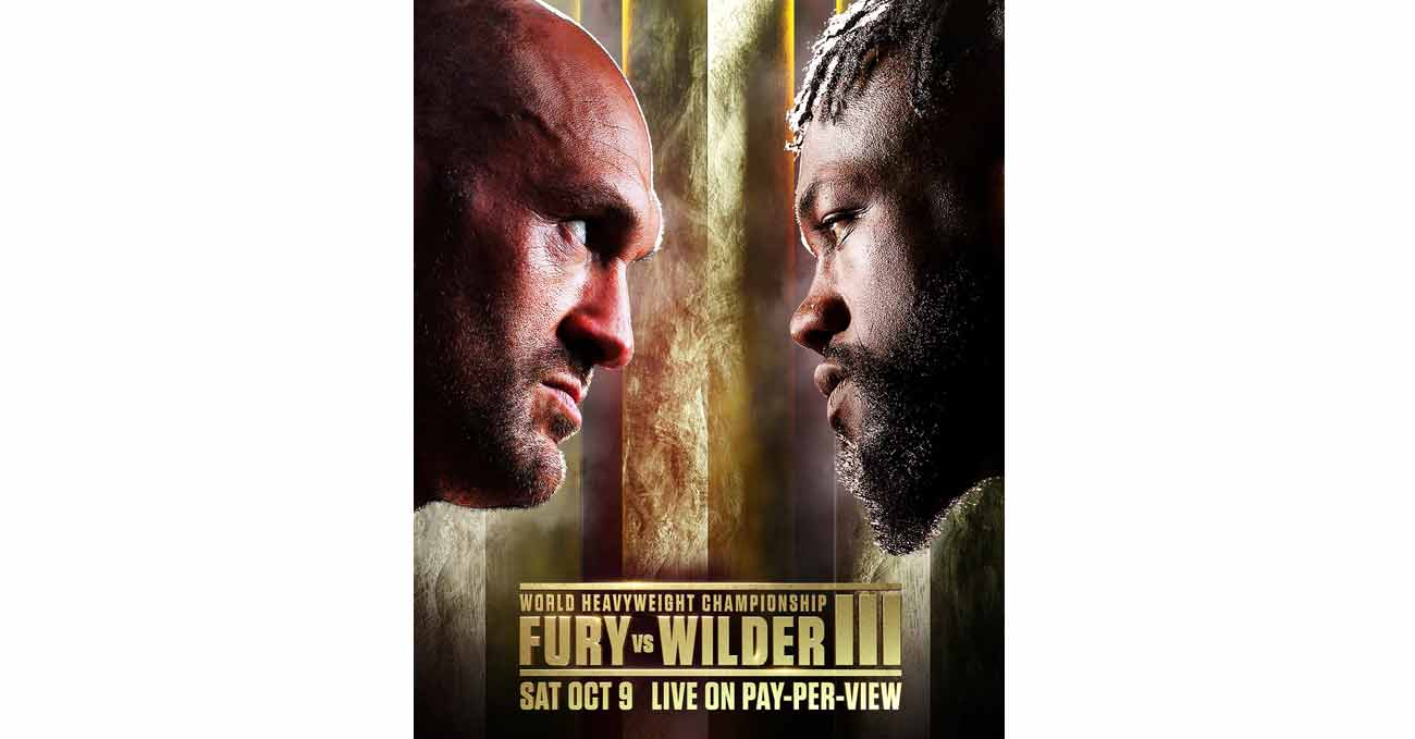 Poster of Fury vs Wilder 3 2021-10-09